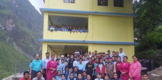 Shree Jhirpu Secondary School ist eröffnet