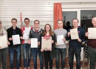 Generalversammlung 2019 Burgmusikanten Raesfeld