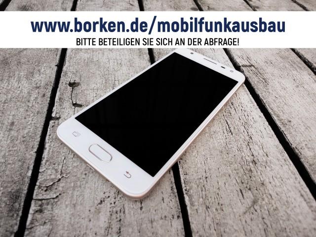 Online-Befragung zur Mobilfunkabdeckung in Borken