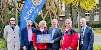 Spende Rotary Club an Gagu Zwergenhilfe