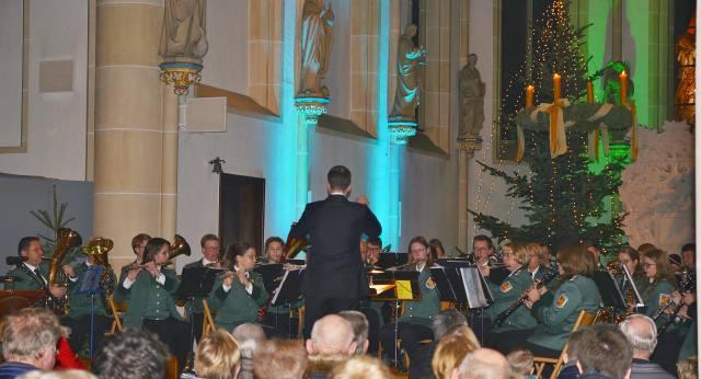 Adventskonzert St. Martin Burgmusikanten 2019