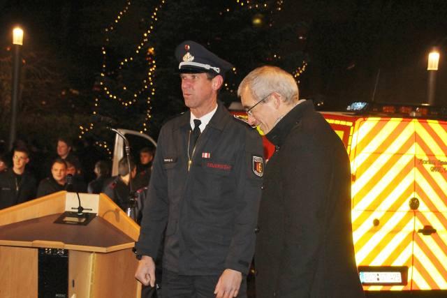 Einweihung Feuerwehrfahrzeug Löschzug Erle