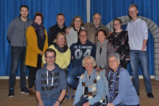 Der Raesfelder Theaterverein probt für sein nächstes Stück.