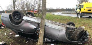 Unfall Ausfahrt Legden A31