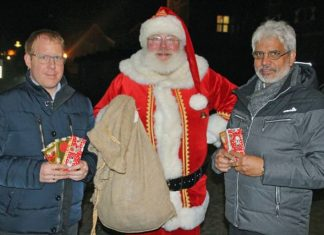 Weihnachtsmann Kalle Zeh
