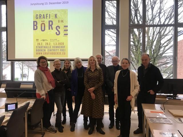 Eine Fachjury hat wieder die Aussteller*innen der diesjährigen Grafikbörse ausgewählt. Foto: Stadt Borken