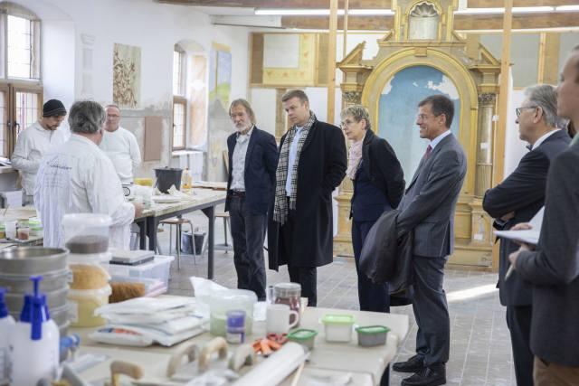 Handwerk Schloss Raesfeld Förderpreis NRW Bank