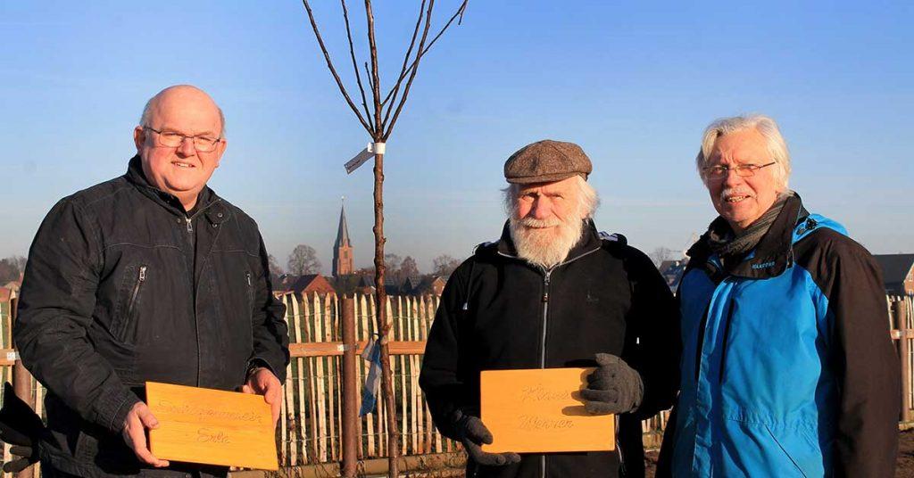 Heimatverein-Erle-pflanzt-Bäume