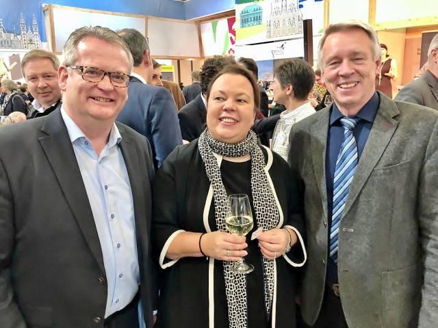 Raesfeld auf der Grünen Woche in Berlin 2020