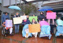 Demo Raesfeld gegen Schließung Landhaus Keller