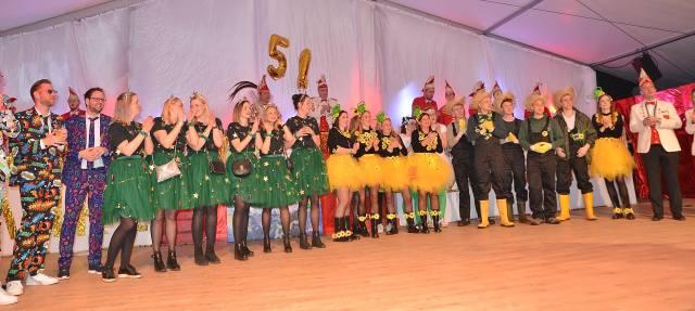 Schräglage 6.0 Karneval in Raesfeld