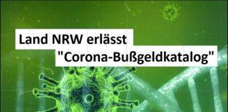 Corona bußgeldkatalog NRW