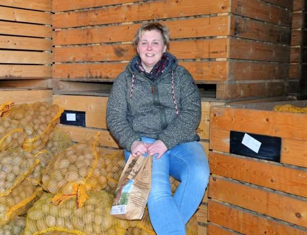 Kartoffeln von Hof Brei in Erle