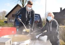 suppe gegen Spende in Raesfeld