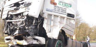 tödlicher Unfall mit LKW B224 Erle