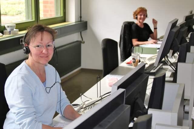 Karin Barenborg (links) und Christine Friedrich