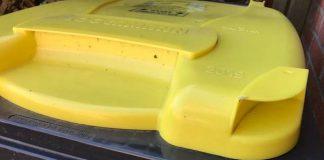 Mülltonnen Gelbe Mülltone
