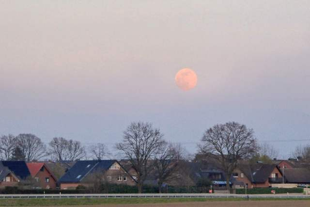 Super Mond und Sonne April 2020