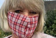 Tragen von Schutzmasken Covid 4