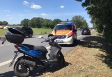 Motorroller Unfall B224 Raesfeld