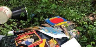 wilde Müllkippe in Erle am Osterholten