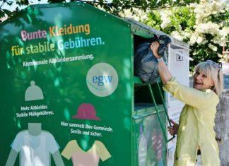 Altkleider Container Gemeinde Raesfeld