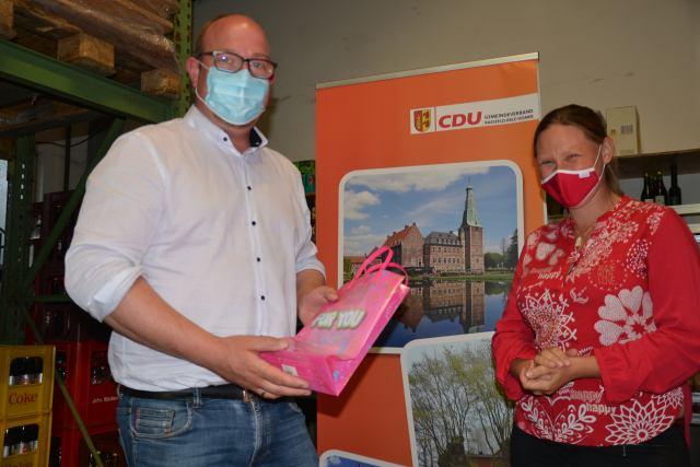 Andre Wachtmeister und Sarah Gößling CDU Raesfeld