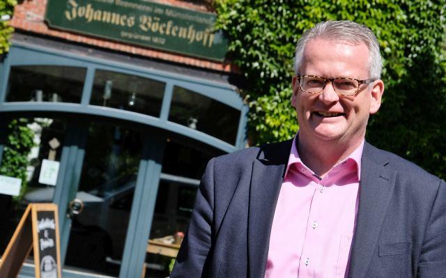 martin Tesing - Kämmerer und Erster Beigeordneter Der Gemeinde Raesfeld. Foto: Petra Bosse
