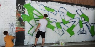 Graffitiworkshop Jugendhaus Raesfeld