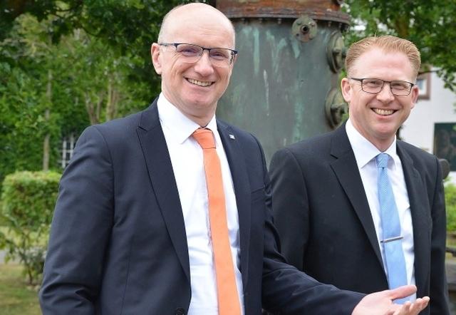 Ralf Steiger und Michael Weddeling
