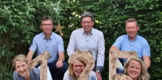 Throngefolge Schützenverein Erle Jubiläum 2020