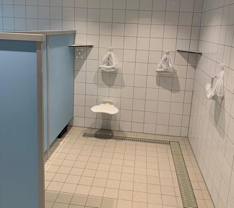 Sanitätanlagen hallenbad Schermbeck