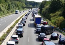 Unfall Autobahn 31 bei Dorsten