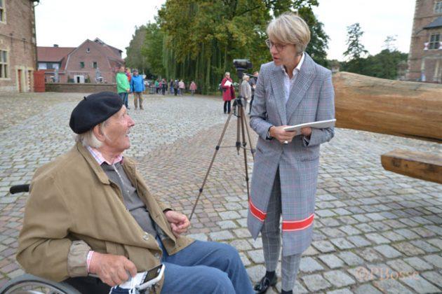 Eröffnung Skulpturenweg Vongries mit Dorothee Feller Schloss Raesfeld
