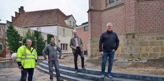 Neugestaltung-Kirchplatz-Erle-St.-Silvester