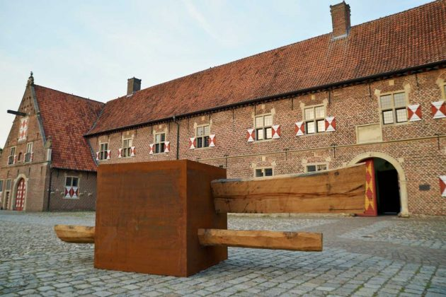 Skulpturenweg-Schloss-Raesfeld-Vongries