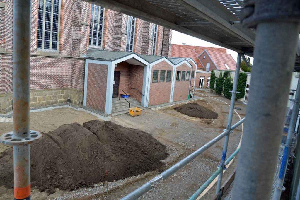 Die Neugestaltung des Kirchplatzes ist das erste Projekt für die neue Erler Dorfmitte.
