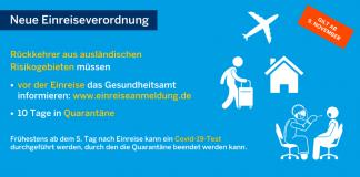 Neue Einreisverodnung NRW