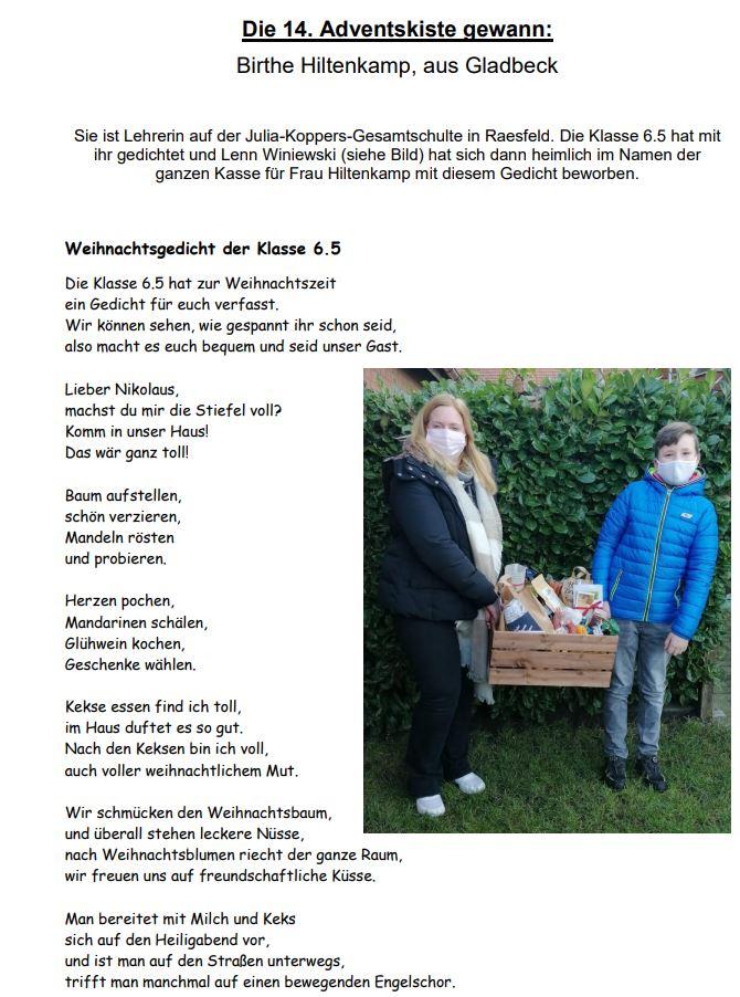 Hillenkamp aus Gladbeck