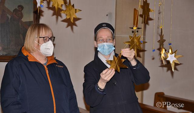 Schwester Daniela-Marie und Agnes Beckmann erste Station-Hol dir einen Stern vom Himmel