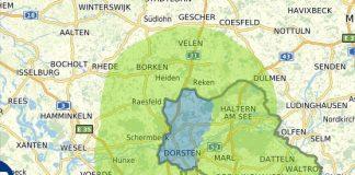 15km Grenze Münsterland