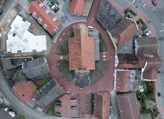 Luftaufnahme St. Silvester Kirche Raesfeld-Erle