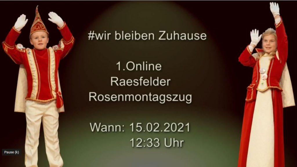 Rosenmontag RRZ 2021