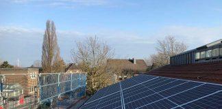 Installation-der-Photovoltaik-Rathaus-Raesfeld