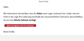 spam DHL