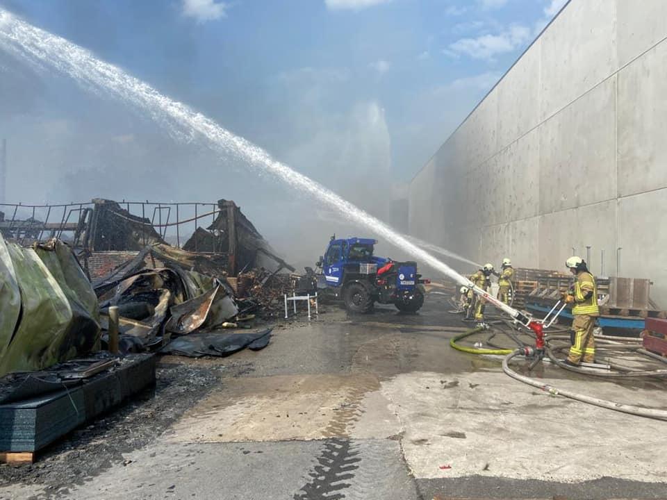 Feuerwehr Raesfeld Fabrik Vollbrand Vreden