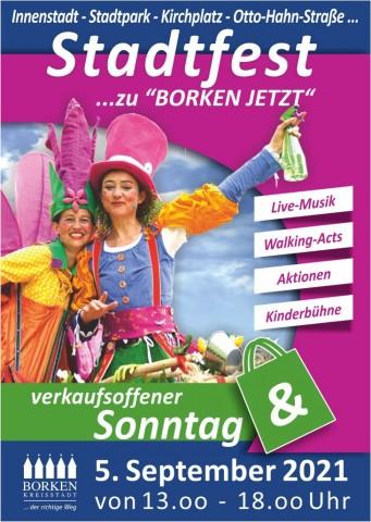 Am Sonntag, 5. September, findet das Borkener Stadtfest 2021 statt. Maskenpflicht, Mindestabstand und 3G-Regel müssen unbedingt eingehalten werden.