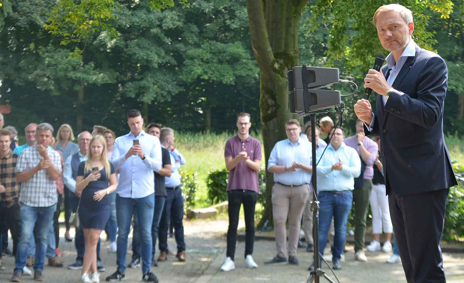 Wahlkampfrede-Christian-Lindner-Raesfeld