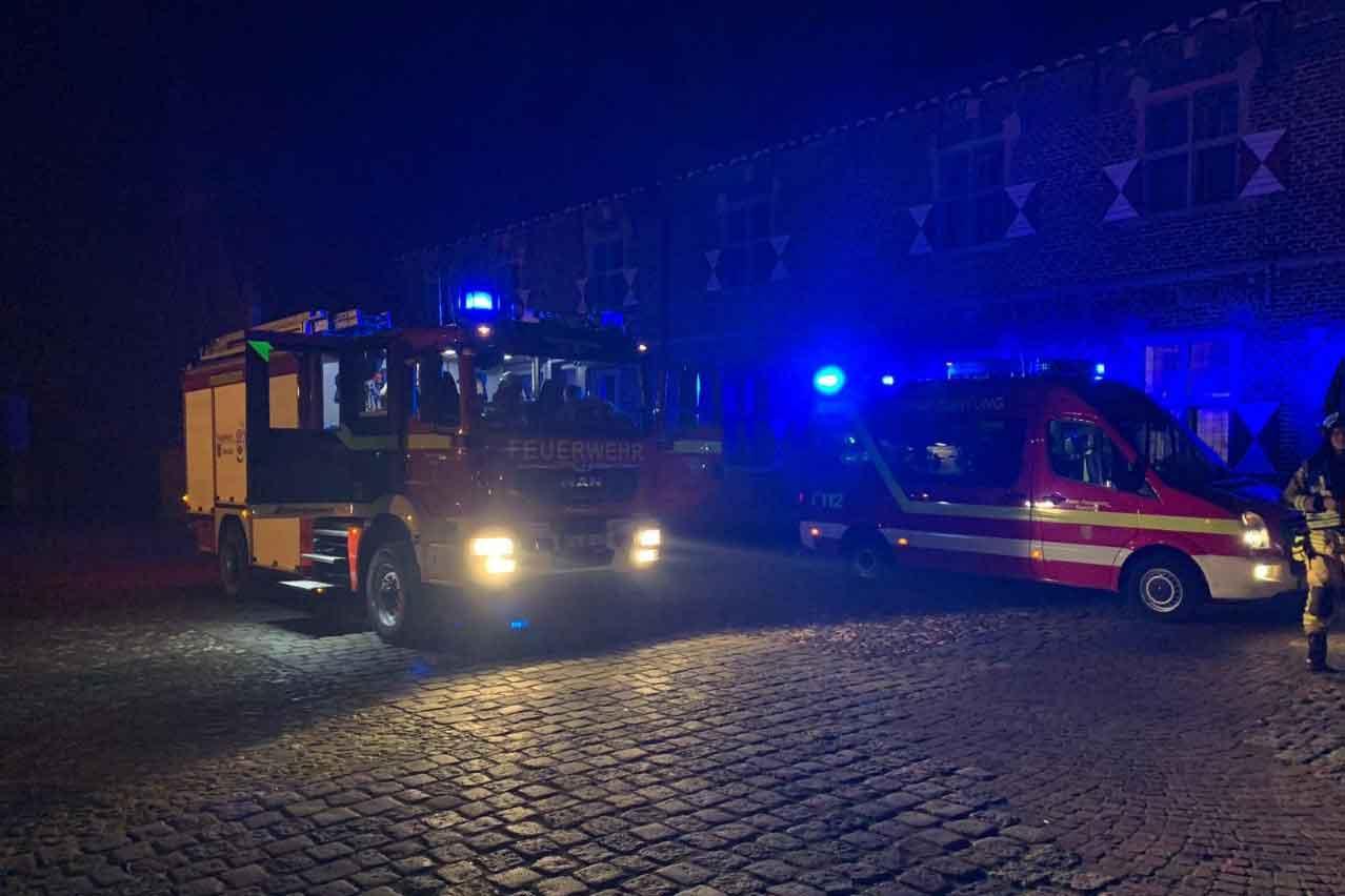Feuerwehreinsatz-Schloss-Raesfeld